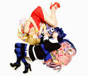 Panty and Stocking cosplay by Tenori-Tiger