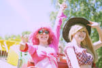 Pinkie Pie and Apple Jack