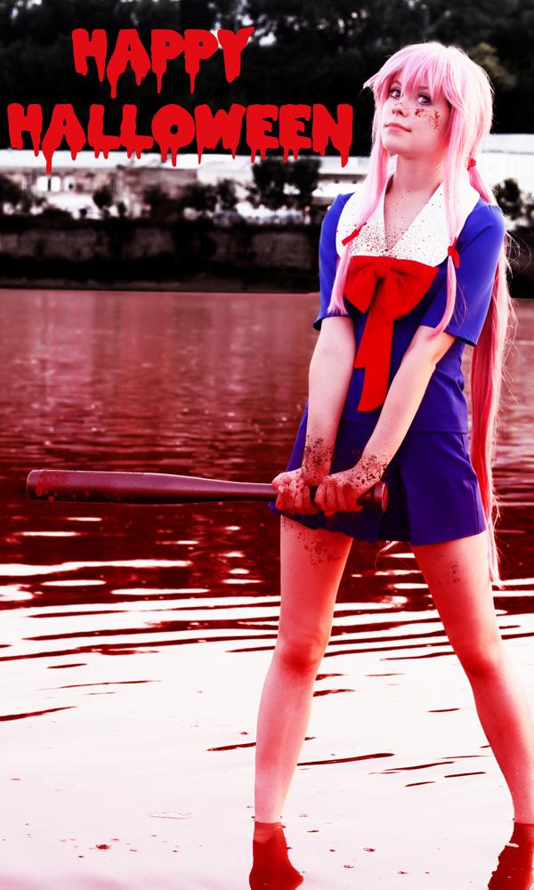 Gasai Yuno cosplay Halloween by Tenori-Tiger