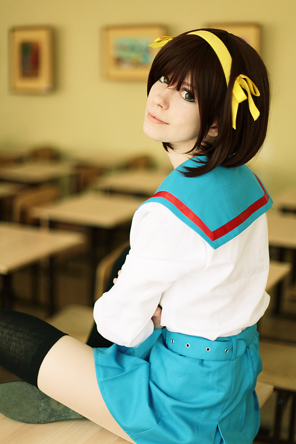 Haruhi Suzumiya cosplay by Tenori-Tiger