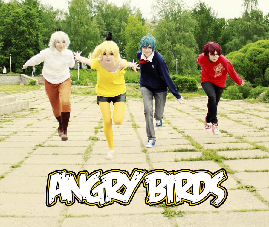 Angry birds cosplay