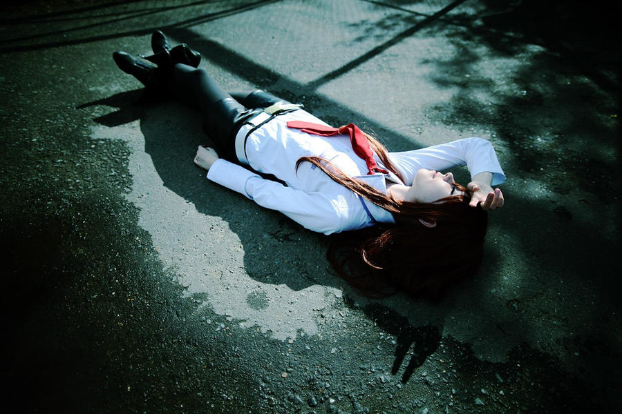 Makise Kurisu cosplay by Tenori-Tiger