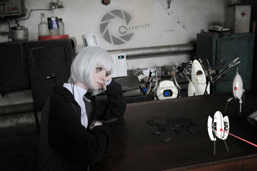 GLaDOS russiaworks cosplay sadness by Tenori-Tiger