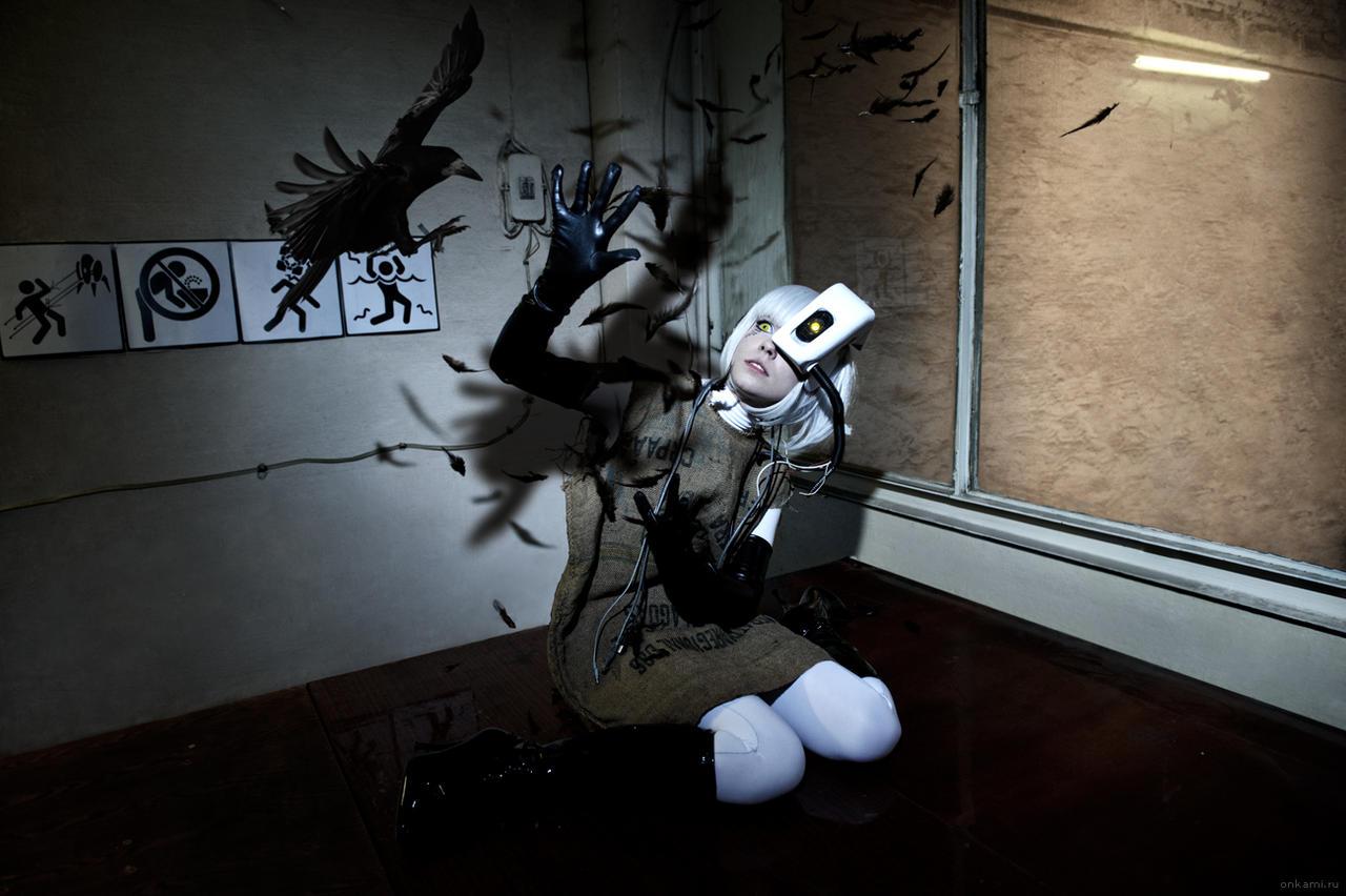 GLaDOS cosplay potato Portal 2 by Tenori-Tiger