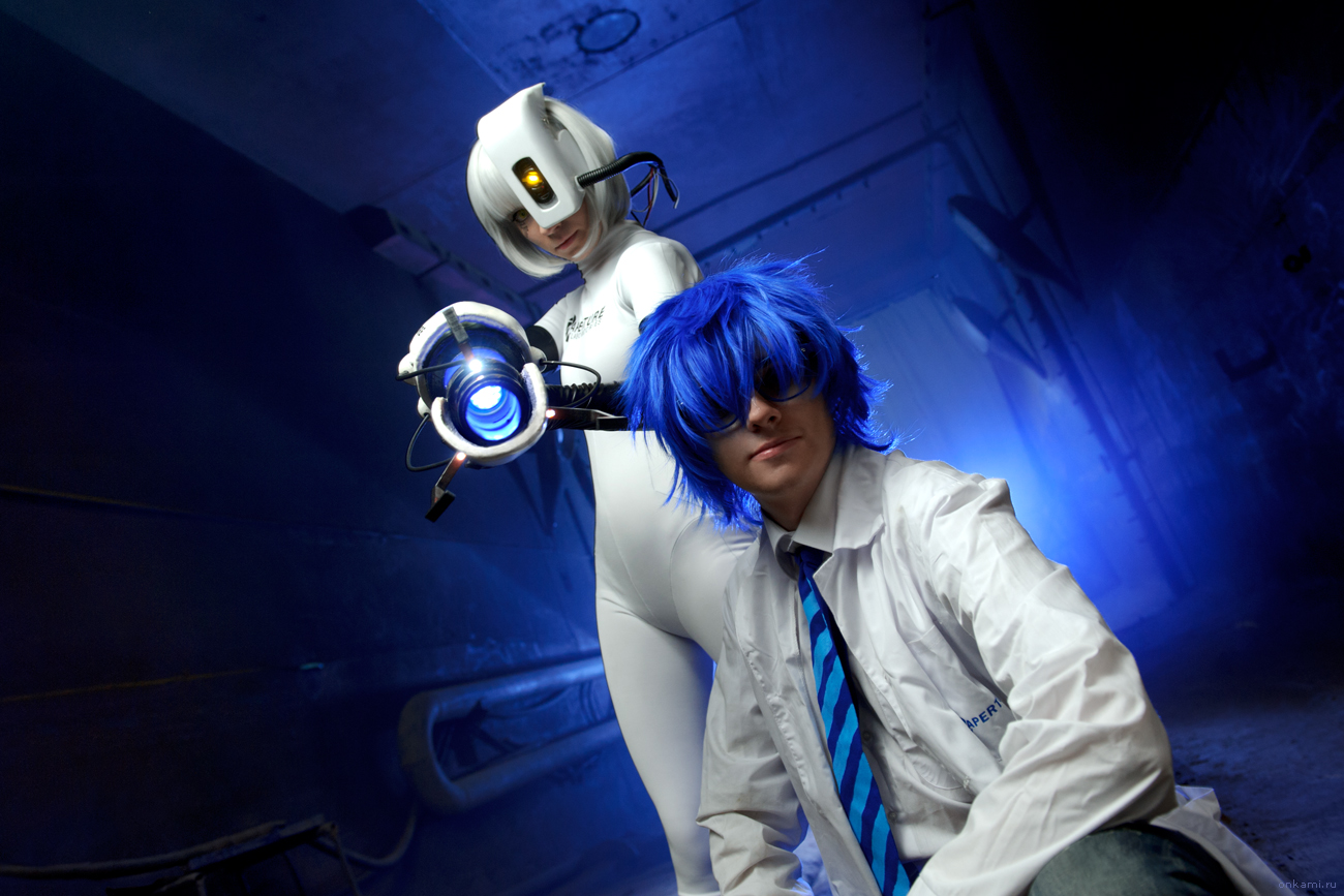 Portal 2 Cosplay by Tenori-Tiger