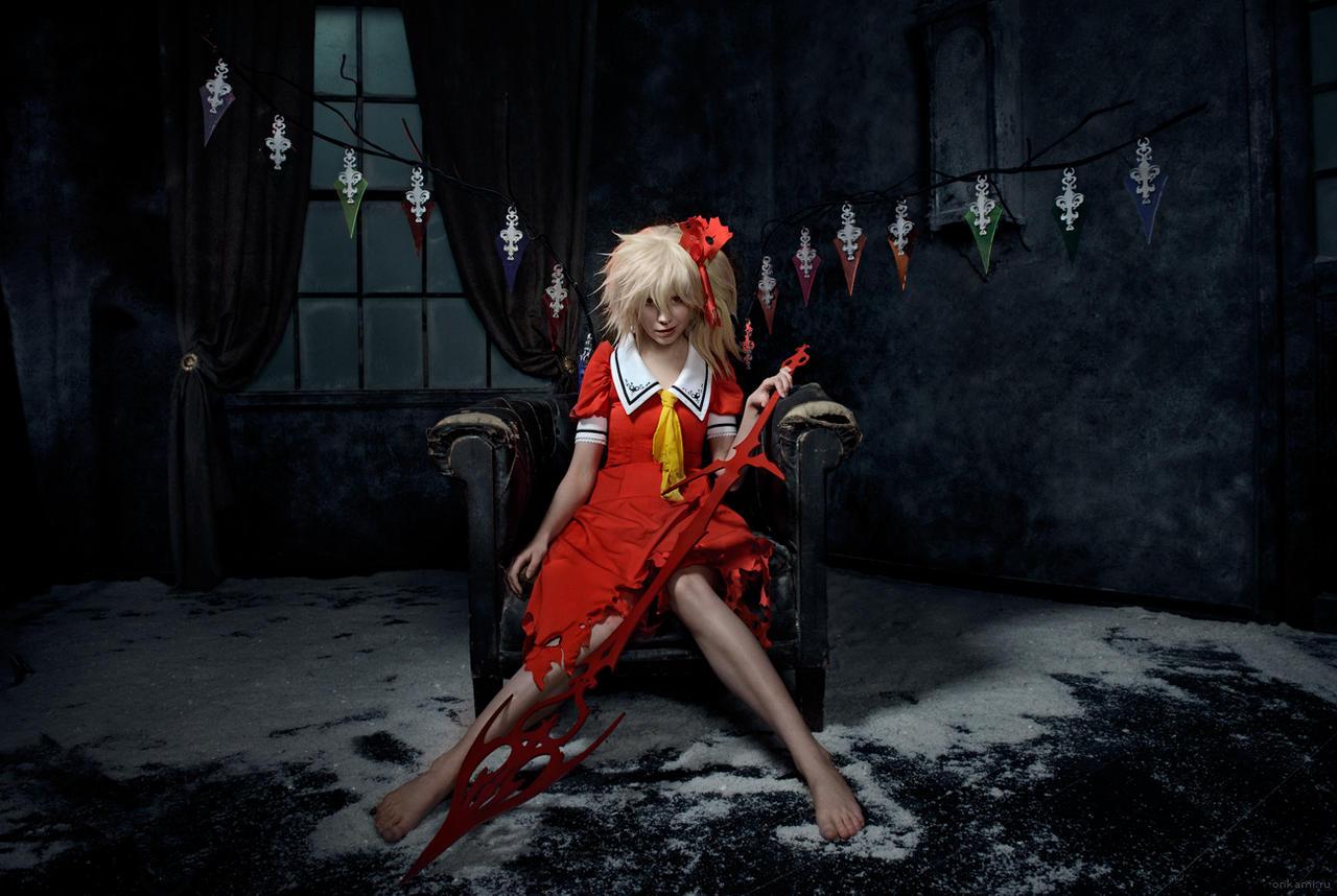 Flandre Scarlet cosplay Koumajou Densetsu by Tenori-Tiger