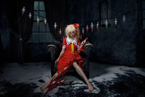 Flandre Scarlet cosplay Koumajou Densetsu