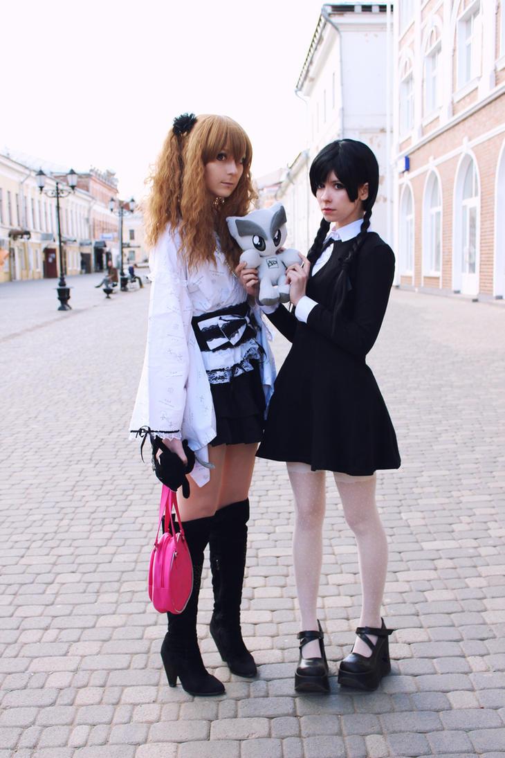 Fella and two russian girls by Tenori-Tiger