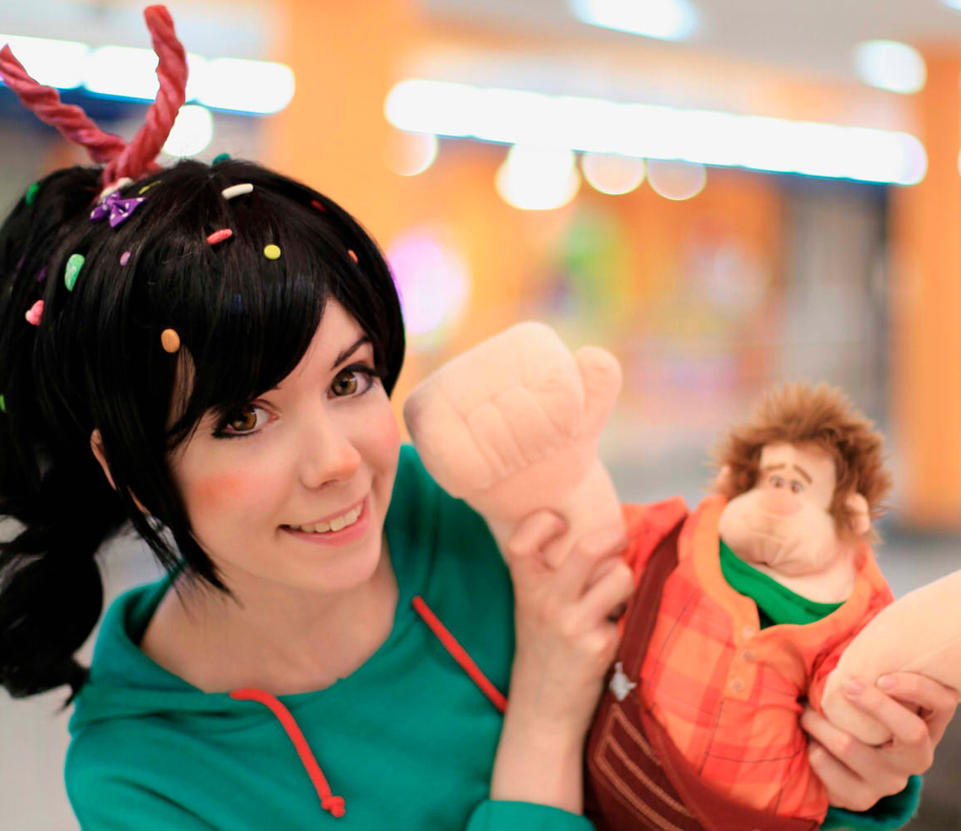 Vanellope von Schweet cosplay wreck-it Ralph by Tenori-Tiger