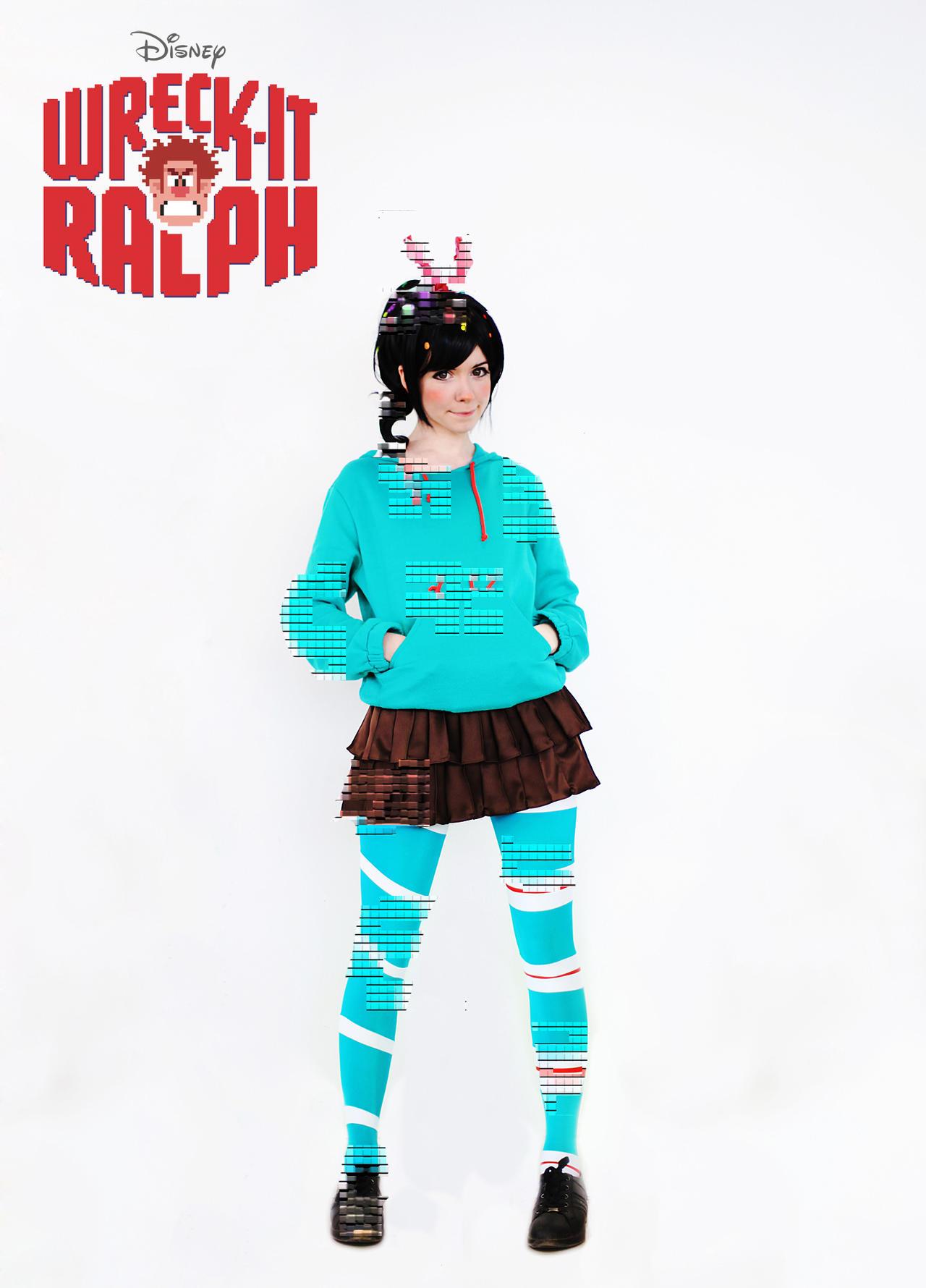 Vanellope von Schweet cosplay by Tenori-Tiger