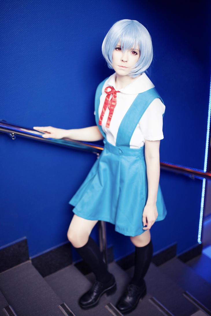 Ayanami Rei Evangelion cosplay by Tenori-Tiger