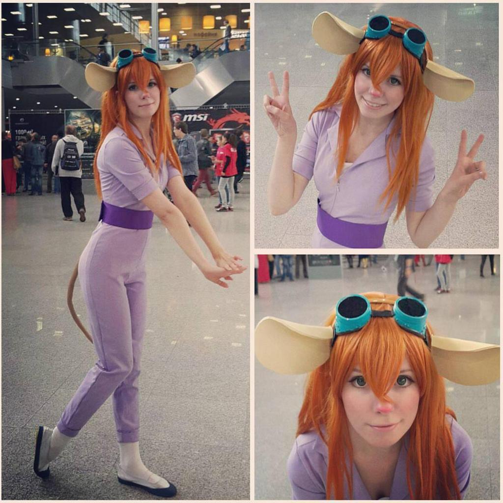 Gadget cosplay Comiccon2015 Russia