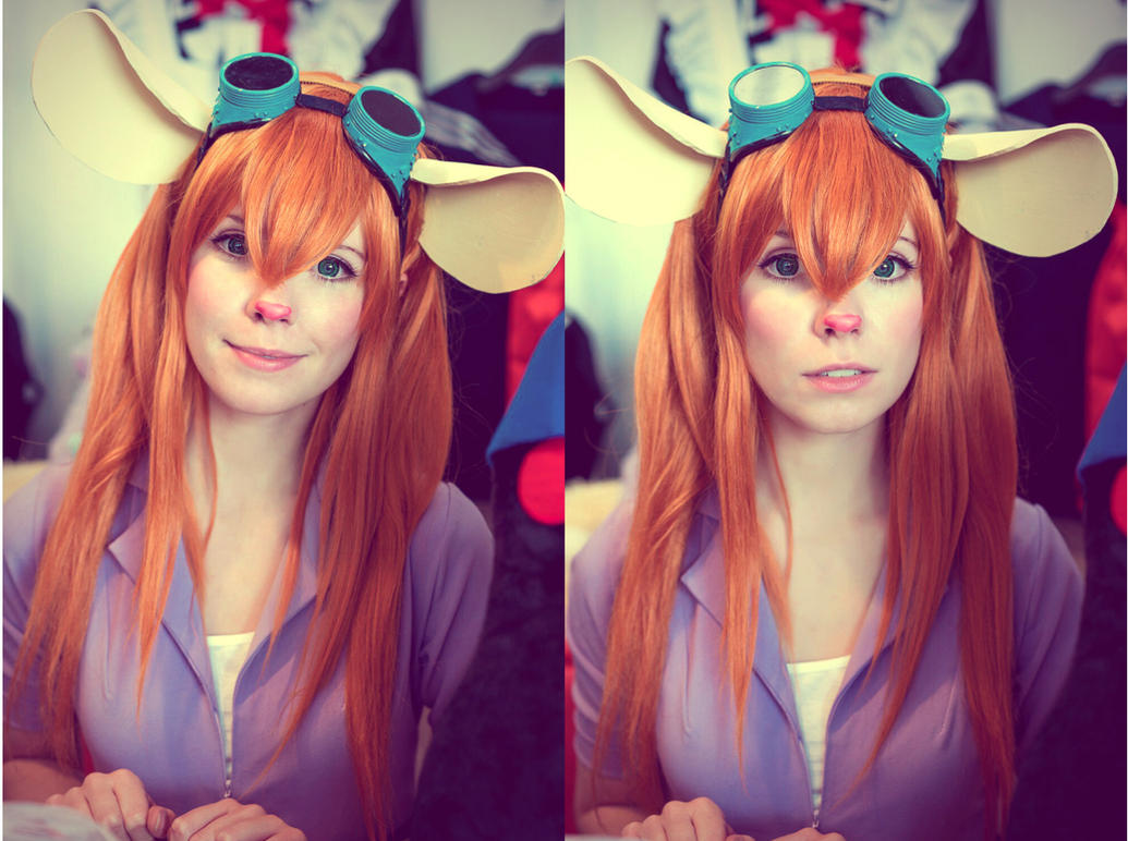 Gadget cosplay Chip and Dale by Tenori-Tiger