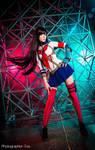 7th Dragon 2020 cosplay katanako