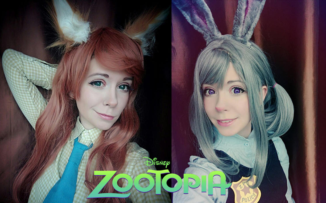 Zootopia cosplay by Tenori-Tiger