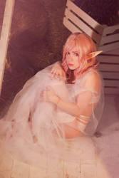 Little shy Elf cosplay