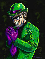 The Riddler by RogueA007