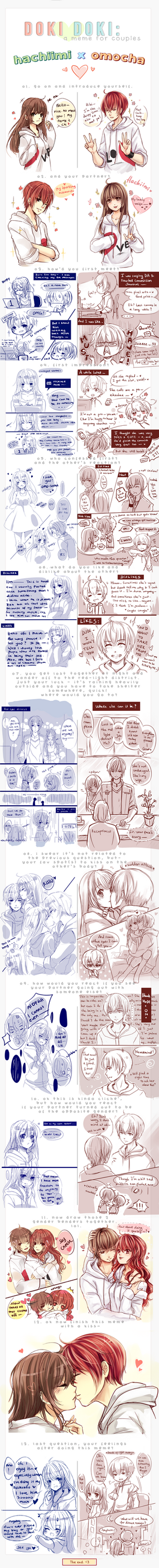 [Doki Doki Meme] Me X my husbandoooo by Hachiimi