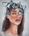 Portrait #7 | Butterfly |