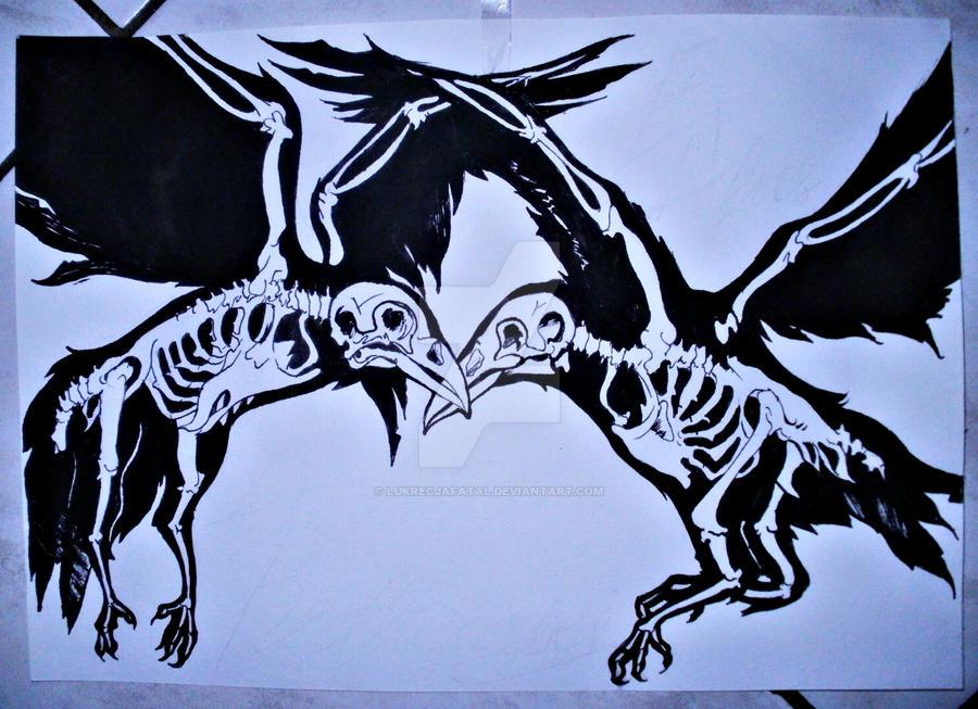 dancing ravens by LukrecjaFatal