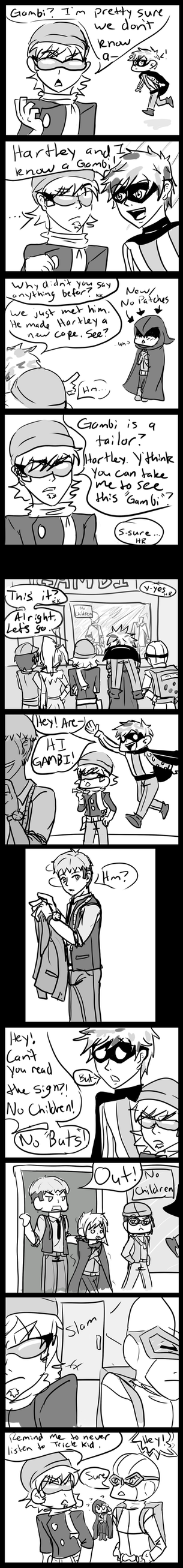 Teen Rogues Meet Gambi by FullmetalApollo