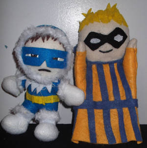 Captain Cold and Lil' Tricks