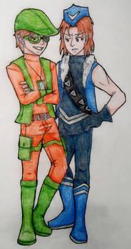 Teen Rogue Bros