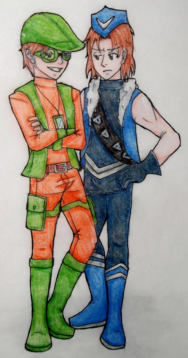 Teen Rogue Bros by FullmetalApollo