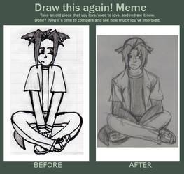 Draw Again Meme - Ryou by FullmetalApollo