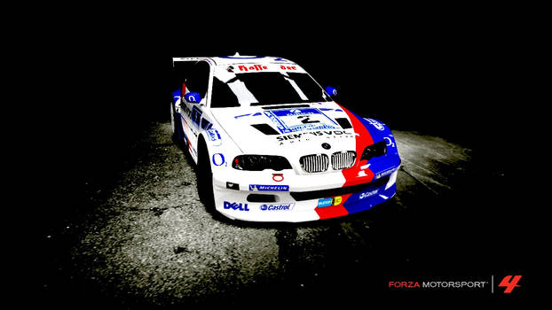 BMW M3 GTR... painting?
