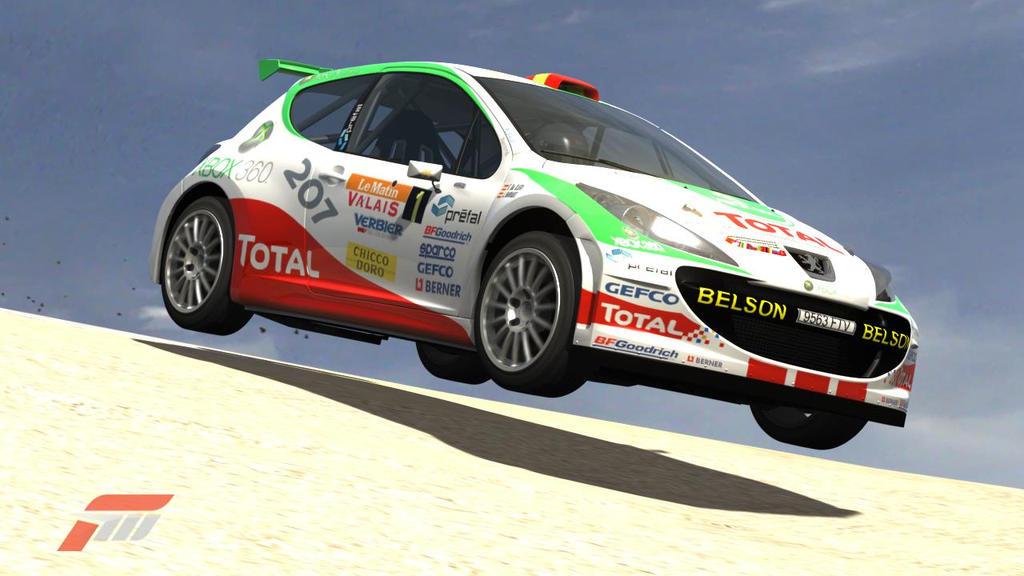 Peugeot 207 Rally Car by AloneRacecar on DeviantArt