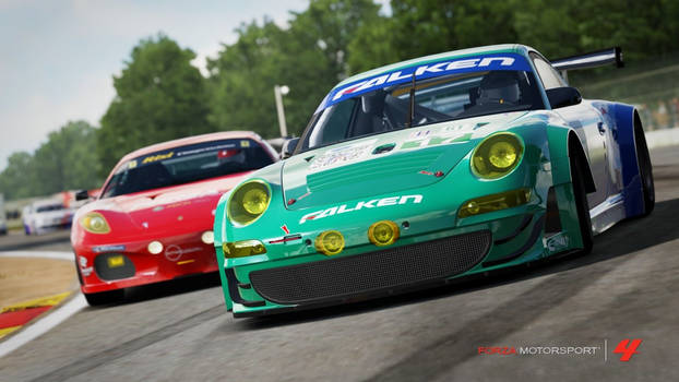 GT Racing Action!