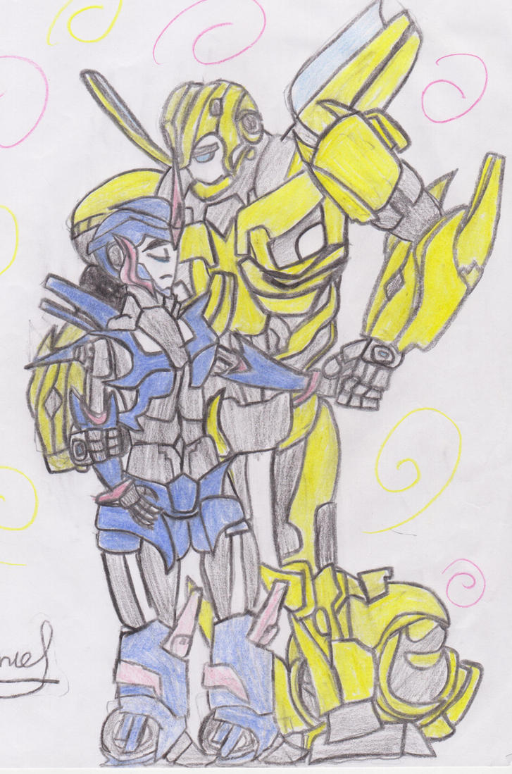 Transformers Prime Bumblebee And Arcee - #traffic-club