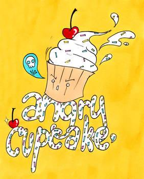 Angry Cupcake