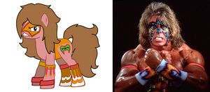 ultimate warrior ponified ( R.I.P)