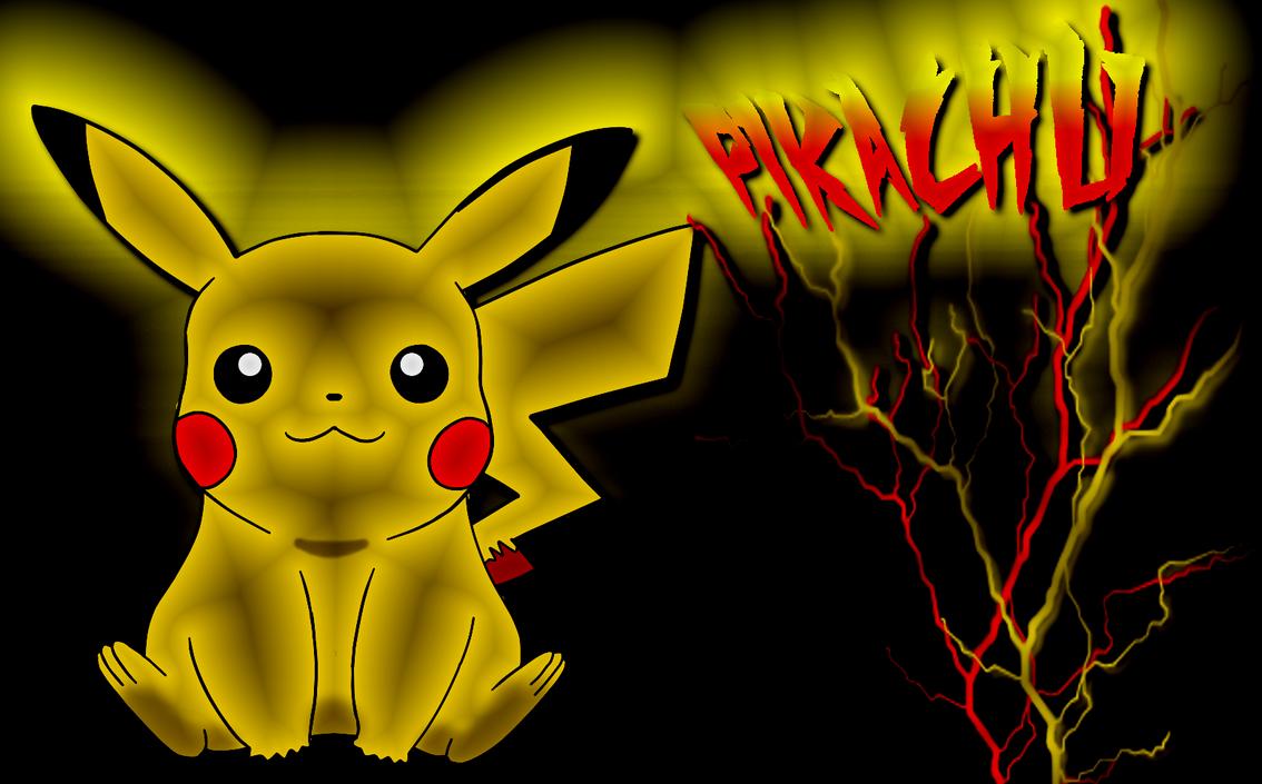 epic pikachu wallpaper by kuren247 on DeviantArt