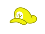 Wario's hat in the style of mlp