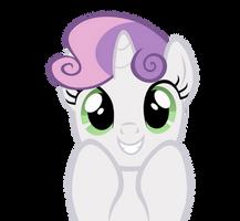 Super Cute Sweetie Belle by kuren247