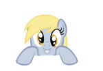 over (like a fence) Derpy