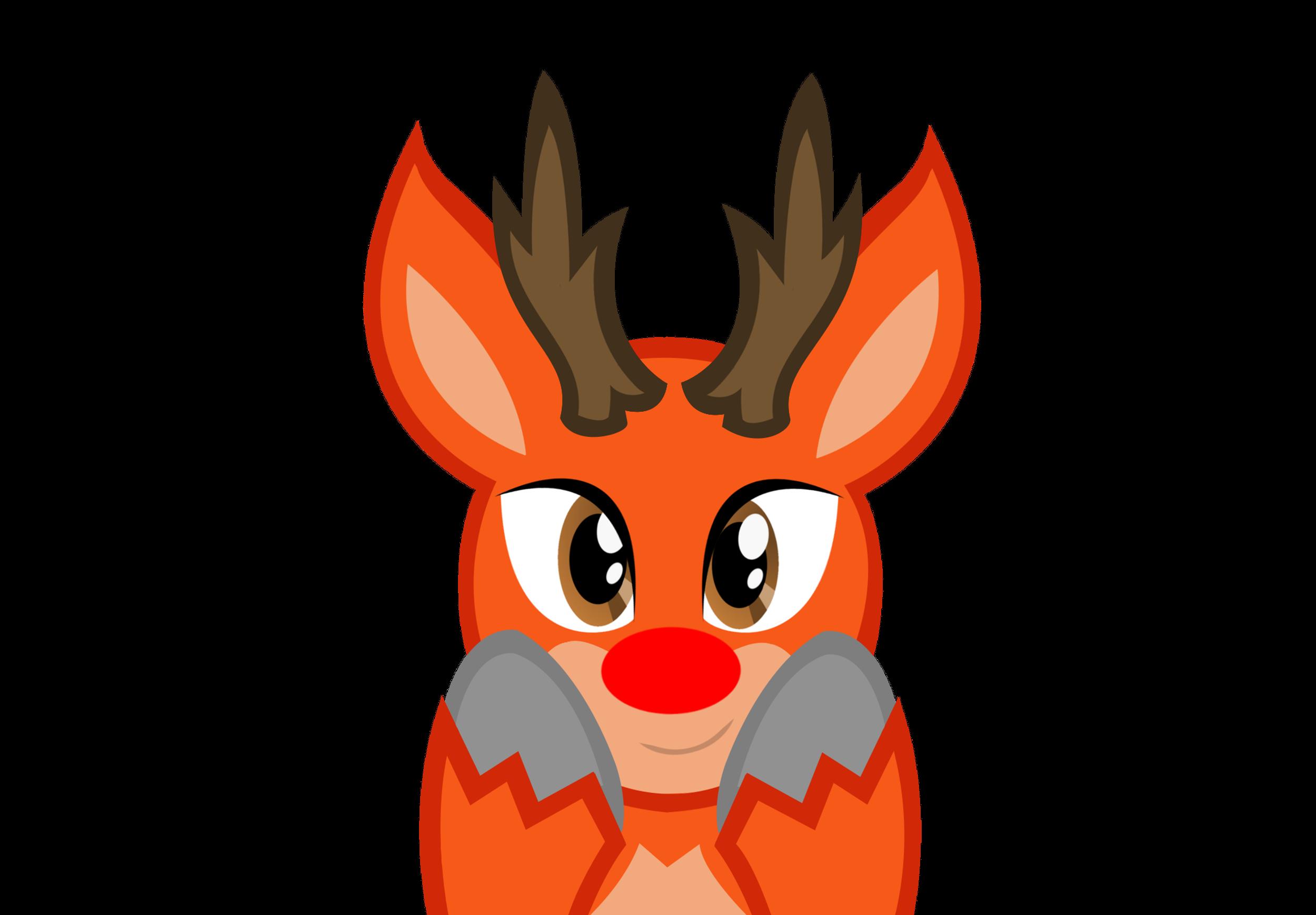 Request) Really cute Rudolph by kuren247 on DeviantArt