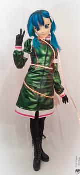 Christmas tree cosplay