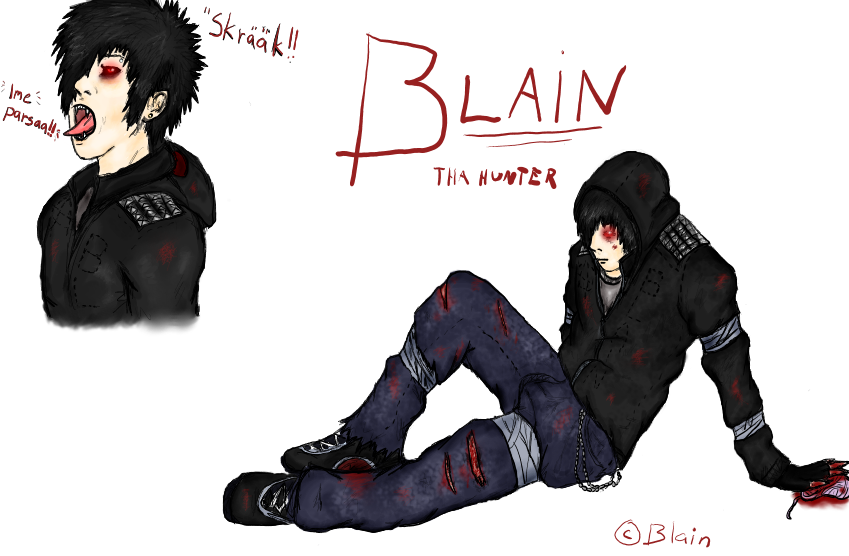 The Hunter Blain by Blainz