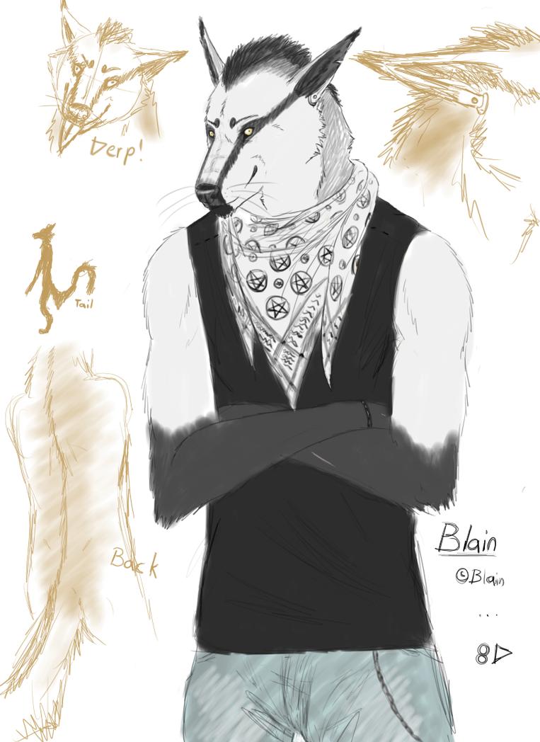 New furry alter ego by Blainz