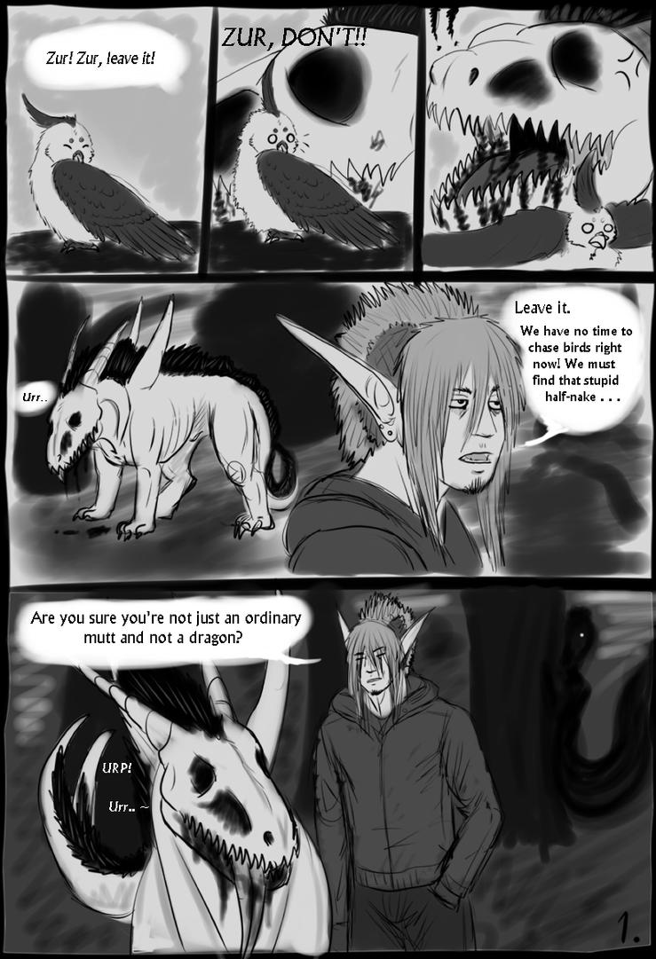 AURA - Page 1 by Blainz