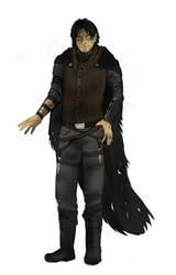 Half elf - male rogue