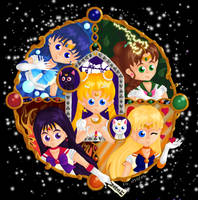 Sailormoon Group by lizabee