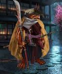 Tatsumori Ronin, dragonborn