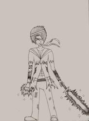 sma: sailor boy scout mars by Ash-a-bash