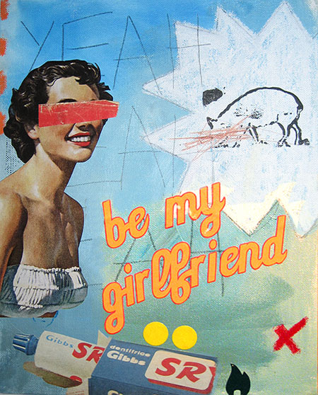 Be my Girlfriend by aureliemonjarde