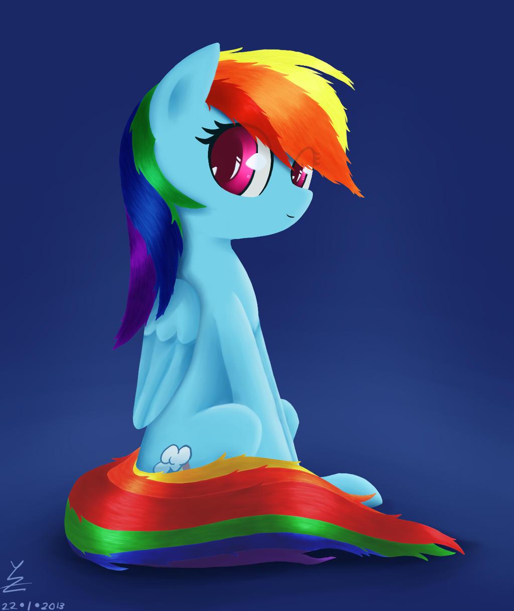 Rainbow Dash by WyeZee